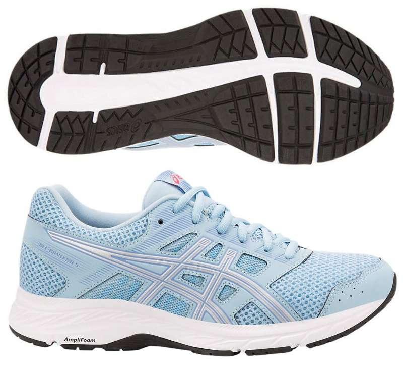 1d4f6175 Женские беговые кроссовки ASICS GEL-CONTEND 5 для небольших повседневных  пробежек по асфальту и беговой дорожке.
